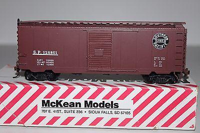 HO Scale McKean 735 Southern Pacific 40' Single Door Boxcar 126801  Y1132