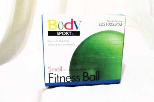 Body Sport Small Fitness Ball New Green  55 cm Therapy Exercise