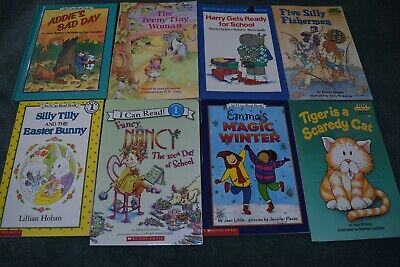 I Can Read / STEP, & Other Level 1, Gr: K-1 books  (5 lots available)