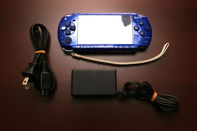 PlayStation Portable PSP-1000 Navy Blue Console Japan Import system US Seller