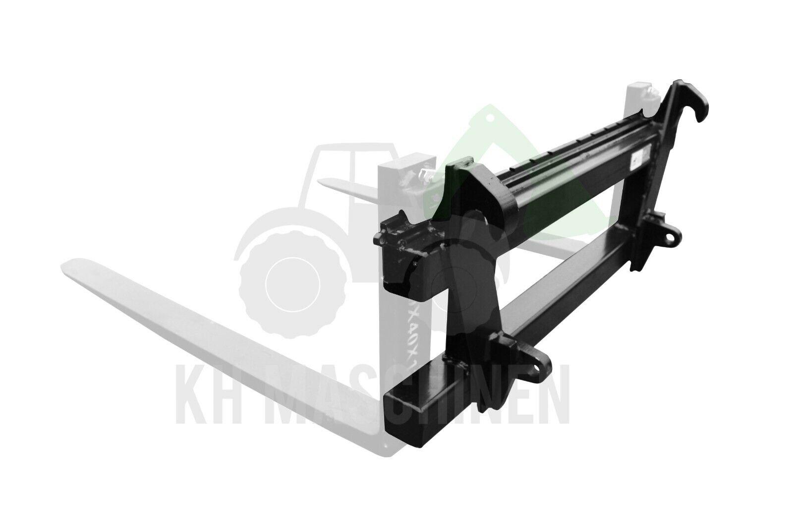 Gabelträger Palettengabel 1200x407mm Frontlader Euro-Norm ohne Gabeln Hydraulik