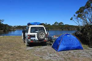 4x4 Mitsi Pajero INCL Convertible Double Bed + All Camping Kit Prahran Stonnington Area Preview