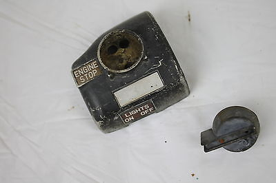 76 YAMAHA XS500 XS 500 RIGHT CLIP ON HANDLE KILL OFF START SWITCH SWITCHES