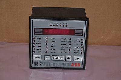Abb Power Factor Controller 20.050.82213 20 050 82213 2005082213 Rvs 6 New