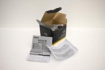 Nikon FTZ Lens Mount Adapter New in Open Box