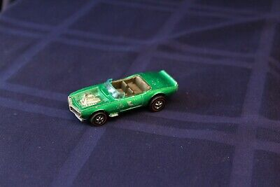 Vintage Hot Wheels Redline Light My Firebird Metallic Green See Picture