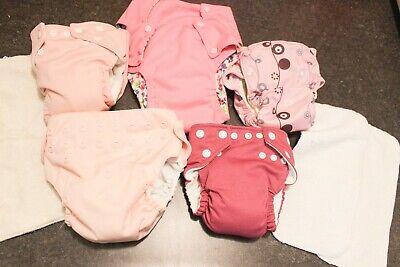 cloth diapers: Bum Genius, Fuzzi Bunz, GroVia