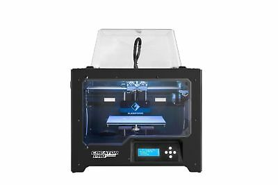 Flashforge Creator Pro 3D Dual Extruder Printer Heated Bed Level Powerspec Abs