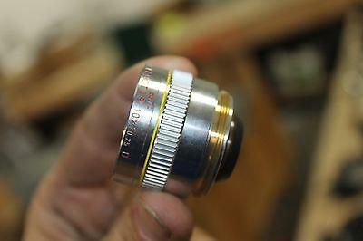 Leitz Wetzlar 567015 Pl Fluotar 10x0.25 D 0 Microscope Objective Lens