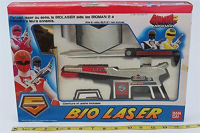 1987 Bandai   Pre Power Rangers   Bioman 2   Mask Man   Super Rare   Bio Laser