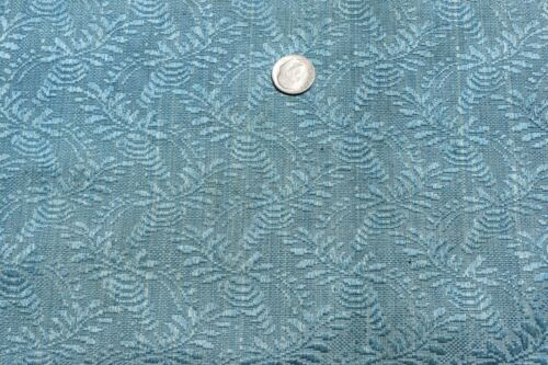 """Antique French Robin Egg Blue 18thC Silk Fabric~Museum Deaccesion~19"""" X 19.5"""""""