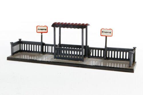 AC1869: Original Kibri 0 Gauge Station Platform Entrance and Exit 53/6