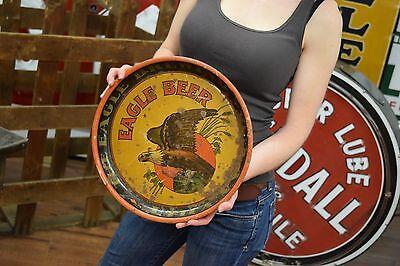 The Eagle Brewing Company Utica NY tray Beer Bar Breweriana Collectible Original