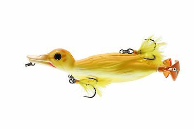 Duck fishing lure WILD DUCKLING top water softbait weedless 100mm in 5 COLOURS