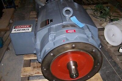 600 HP AC Reliance Electric Motor, 1779 RPM, from Ingersoll Rand XFE 500 2S