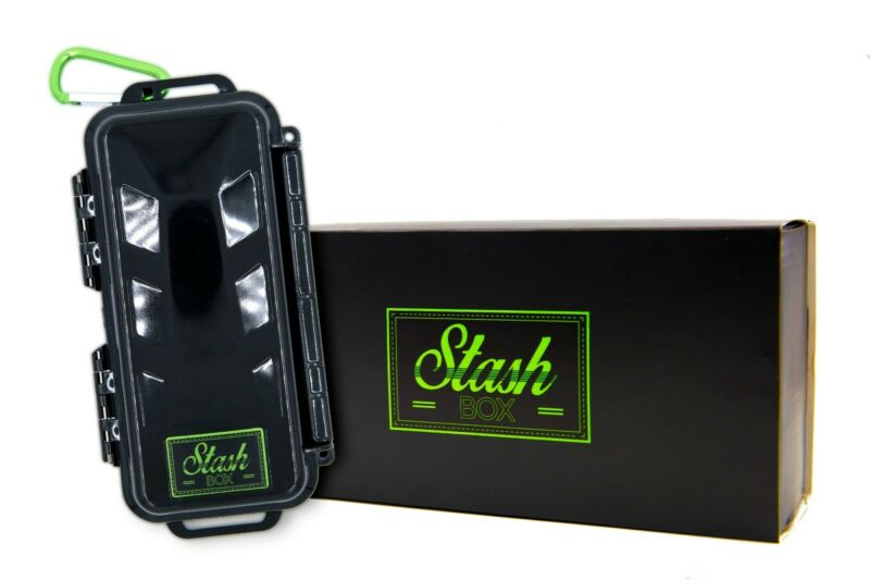 STASH BOX: Quality Hard Case - smell proof, water proof, lockable hard case.