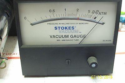 Stokes Vacuum Gauge Mb - 4am Gauge Tube Model Tbc-14c