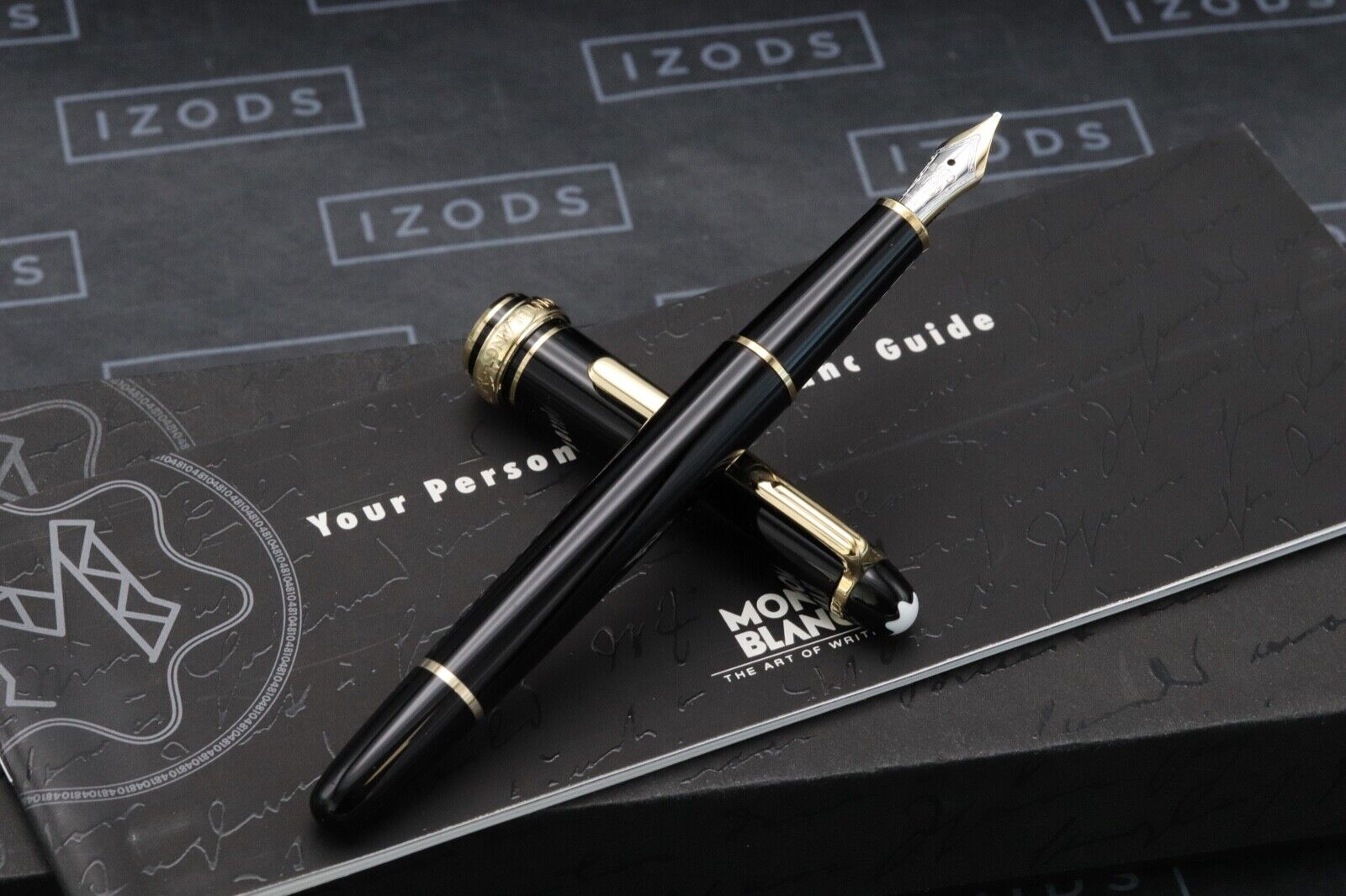 Montblanc Meisterstuck 144 Classique 'Wedding Pen' Fountain Pen 1