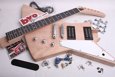 Build Your Own Electric Guitar Kit - Explorer