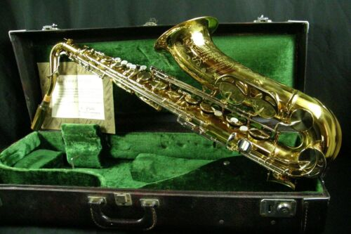 KING SUPER 20 TENOR SAXOPHONE SERIES V w/ CASE VERY GOOD CONDITION Early 1970