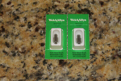 Lot 2 Welch Allyn Halogen Lamp For 3.5v Macroview Otoscope 06500 23810 23820