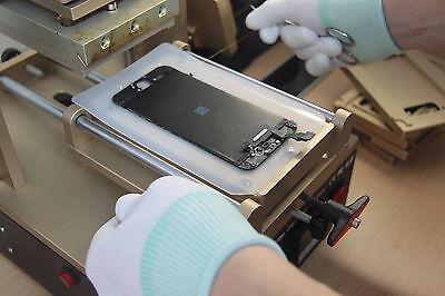 LCD vom zersprungen Glas trennen