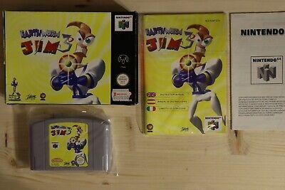 Earthworm Jim 3D - OVP/Boxed Nintendo 64 N64 PAL