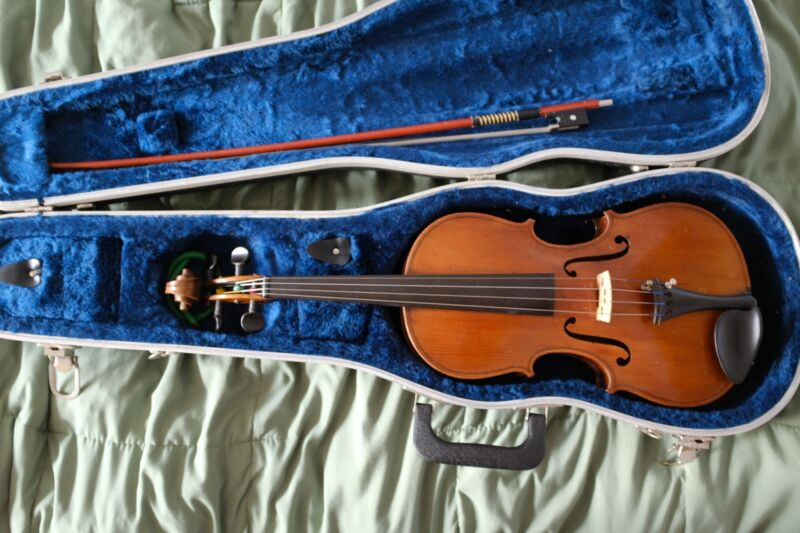 EXQUISITE Antique Violin Handmade from early 1900s SPRUCE/MAPLE