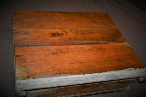 Tucker Alarm Till No. 1 Antique 1800