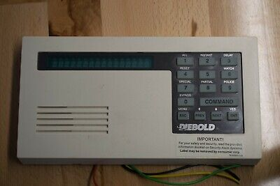 Bosch Radionics D1255 Diebold Security Keypad
