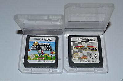 Mario Kart & New Super bros games game Nintendo DS DSI DSL DSIXL 3DS XL