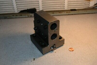 W2448 Tool Holder Block For Nakamura Tome Cnc Lathe Turning Center 1 Holes