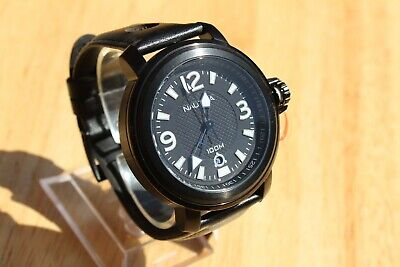 RRP £195. NEW NAUTICA A17556G IMMENSE 54MM  LARGE GENTS STAINLESS 100M WR WATCH