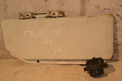 VW Crafter Fuel Flap Crafter Panel Van White Fuel Cap Cover 2006