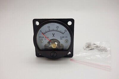 Dc 0- 30v Analog Voltmeter Analogue Voltage Panel Meter So45 Directly Connect