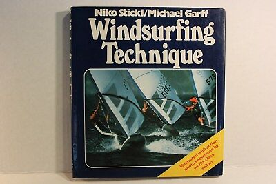 Book Windsurfing Technique by Niko Stickl/Michael Garff with photos 177 pages