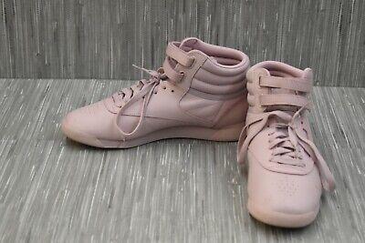 Reebok Freestyle Hi CN6632 Training Sneakers, Women's Size 8.5 - Lilac