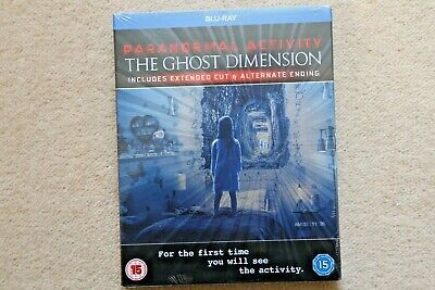 BLU-RAY PARANORMAL ACTIVITY THE GHOST DIMENSION  BRAND NEW SEALED UK STOCK