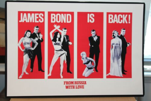 SEAN CONNERY JAMES BOND 007  FROM RUSSIA WITH LOVE  POSTER