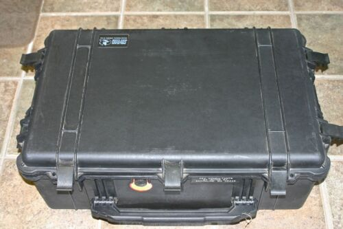 Pelican 1650 Case, Heavy Duty with Foam and Wheels