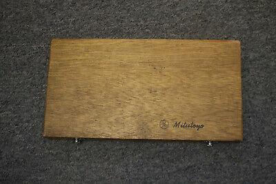 Mitutoyo Inside Micrometer 141-133 3-12 Lathe Machinist Made Japan W Box
