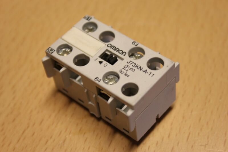 Omron Industrial Relays Contactor J73KN-A-11 - EXPRESS SHIPPING