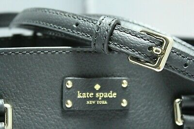 - DESIGNER kate spade NEW YORK Lana Black Purse Shoulder Bag $329 REWARD YOURSELF