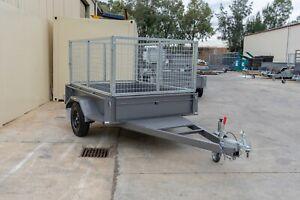 7x5 Single Axle Box Trailer 1350kg ATM Pooraka Salisbury Area Preview