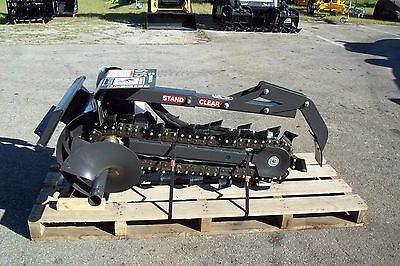 36 Trencher Fits Mini Loaders Bradco 615dig 36 X 6 Widefree Shipping