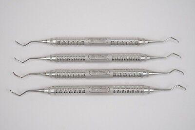 Hu-friedy Sgf36 Gf-3 Goldman-fox Curette Scaler Dental Hygienist Instrument