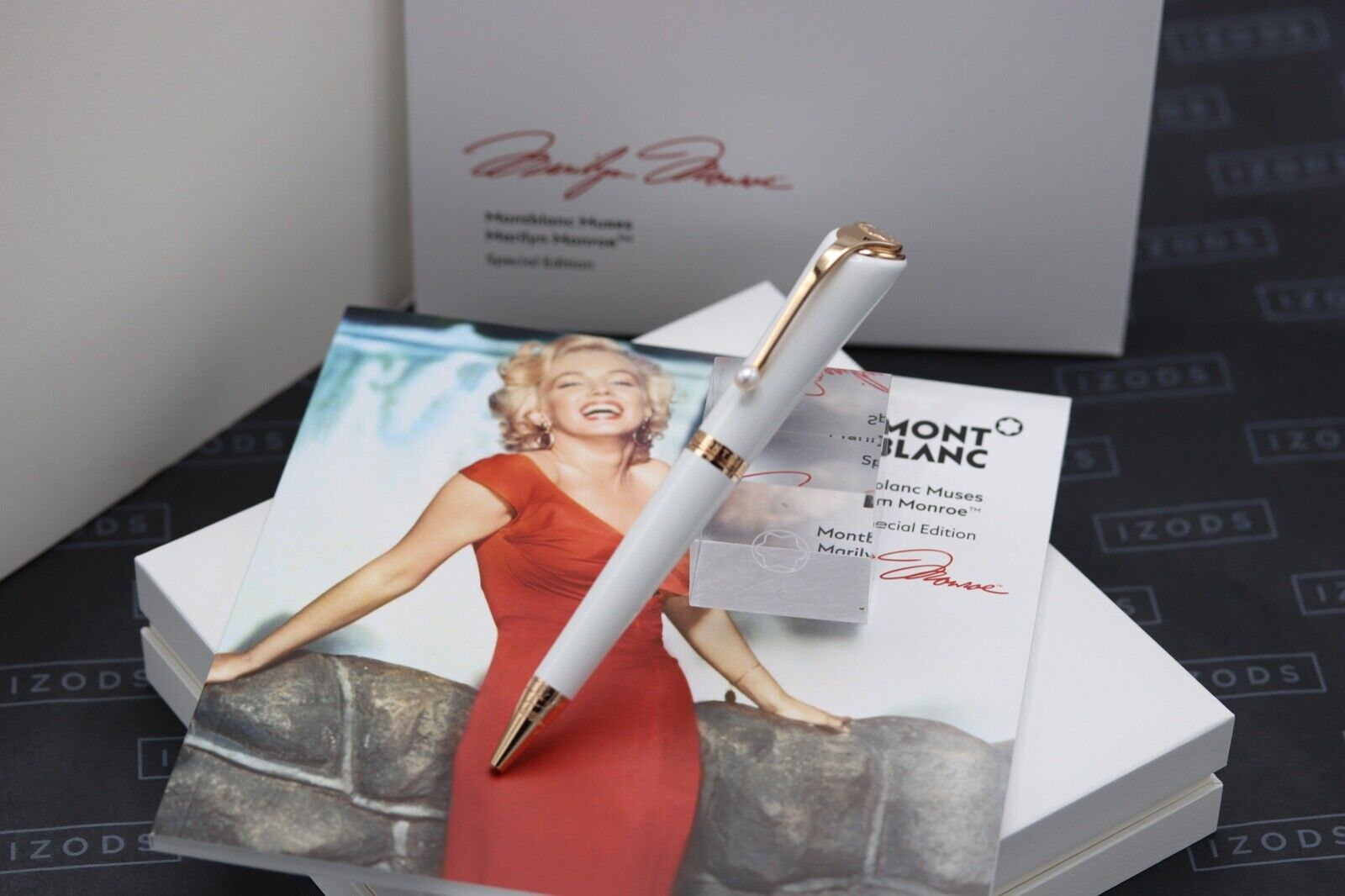 Montblanc Muses Edition Marilyn Monroe Pearl Ballpoint Pen - NEW MARCH 21
