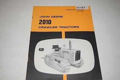John Deere 2010 Crawler Tractors Operators Manual