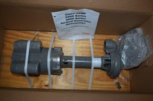 Flowserve VSMP-1000-CX1.5X3 Immersion Coolant Pump with Marathon Motor