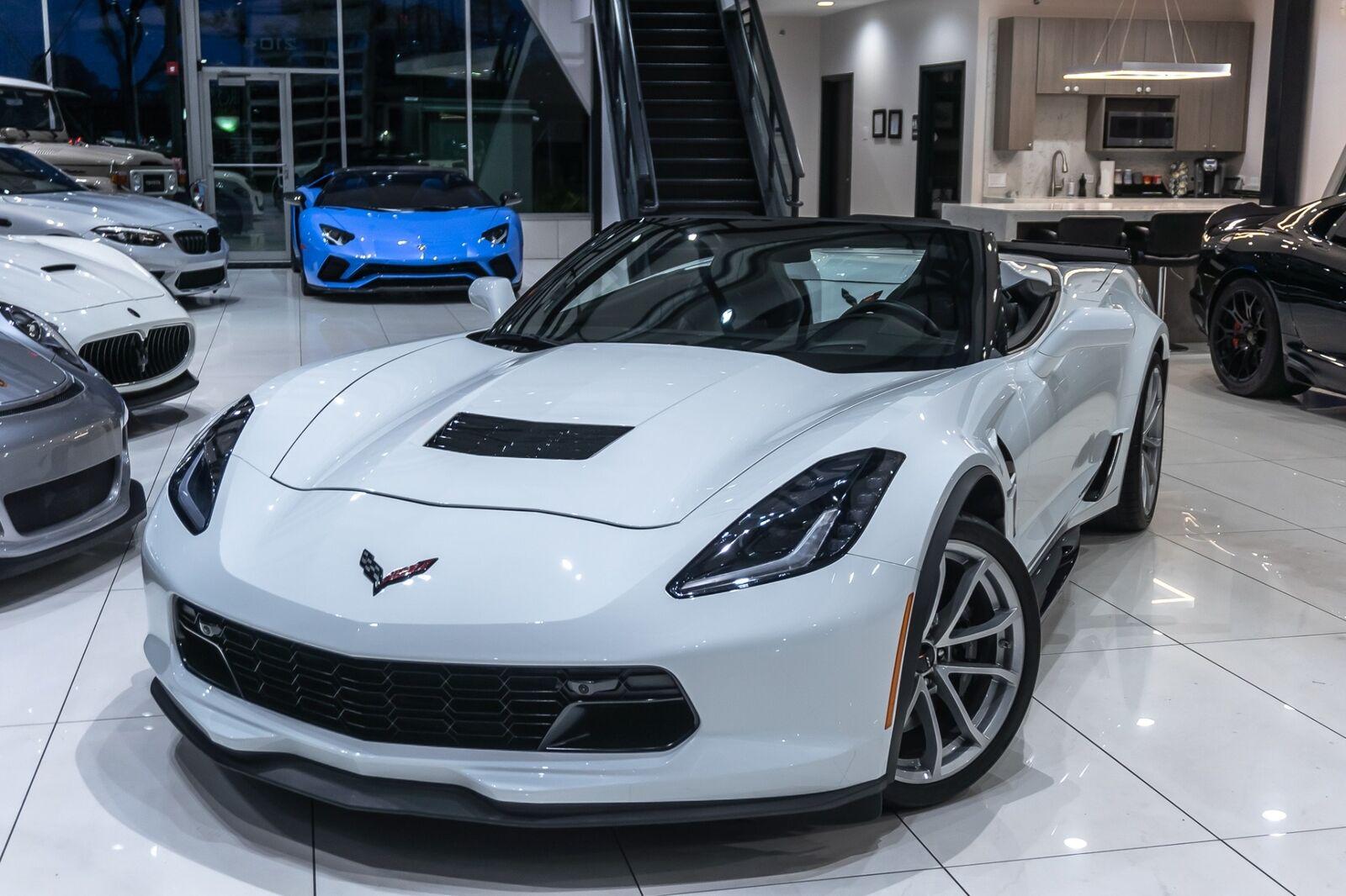 2019 White Chevrolet Corvette Convertible 2LT | C7 Corvette Photo 5